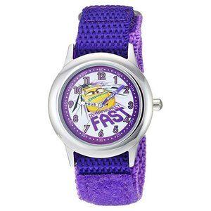 NWT Disney Watch Nylon Strap Purple